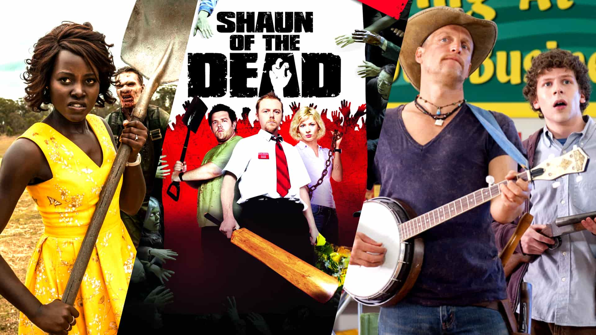 Best Funny Zombie Movies - Featured - StudioBinder