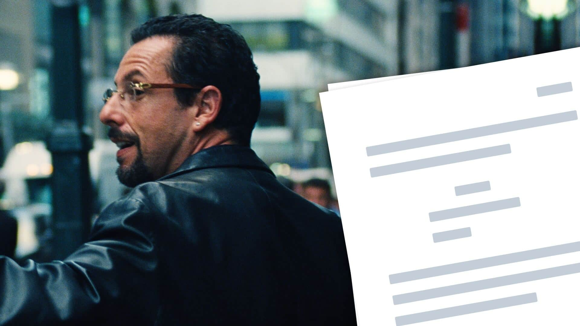 Uncut Gems Script PDF Download_ Plot, Characters, and Analysis - Featured