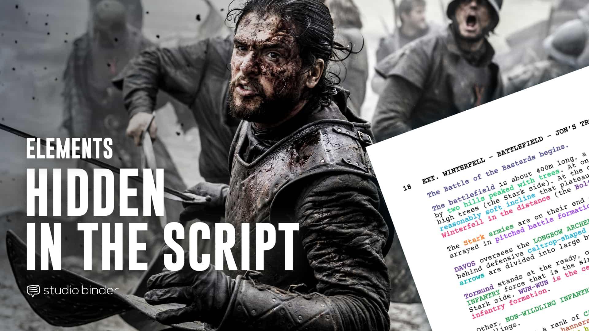 """Hidden Elements"""" in a Script Breakdown: How to Read Between"""