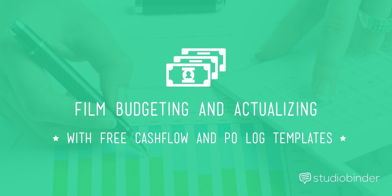 Film Budget Cashflow Template And P O Log Studiobinder