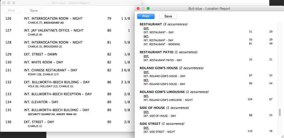 Script Breakdown - Location Consistency - StudioBinder