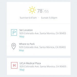 Call Sheet App | StudioBinder auto-generates weather, map links and hospitals