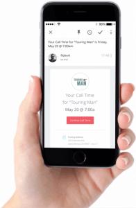 Mobile Call Sheet App | StudioBinder