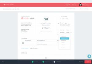 Call Sheet Software - StudioBinder - device-min