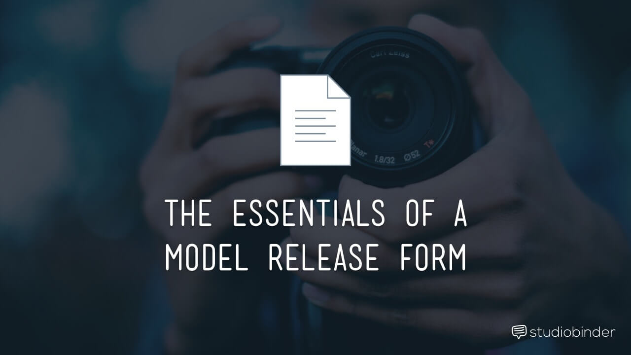Essentials Of A Model Release Form - Header