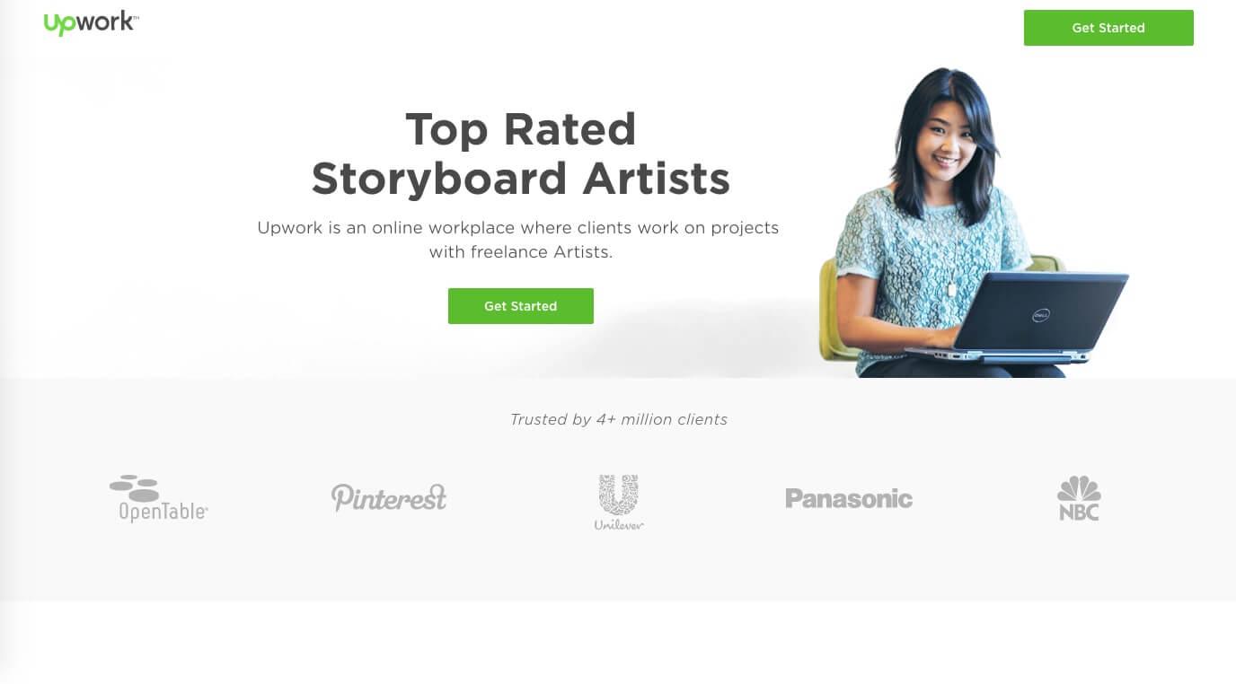Storyboard Artist Websites Upwork StudioBinder