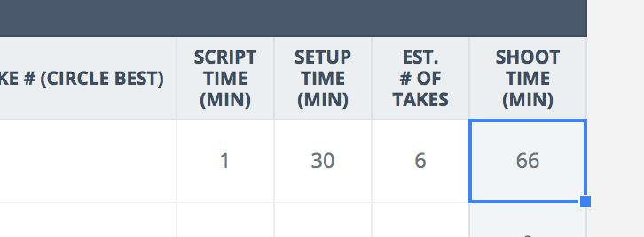 Ultimate Shot List Template Shoot Time Studiobinder