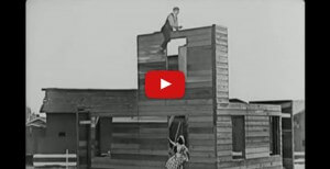 3 Ways To Make Your Film Blocking More Interesting - Buster Keaton Art of the Gag