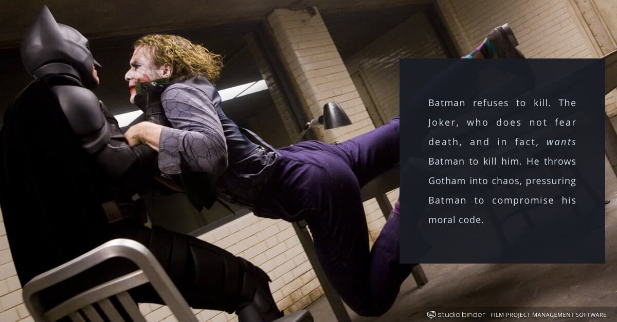 4 Essential Principles for Creating the Ultimate Antagonist - The Dark Knight - Joker and Batman