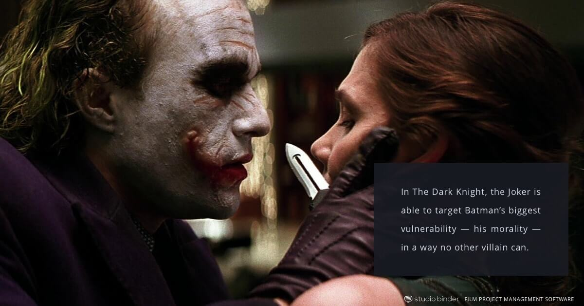 4 Essential Principles for Creating the Ultimate Antagonist - The Dark Knight - Joker and Rachel