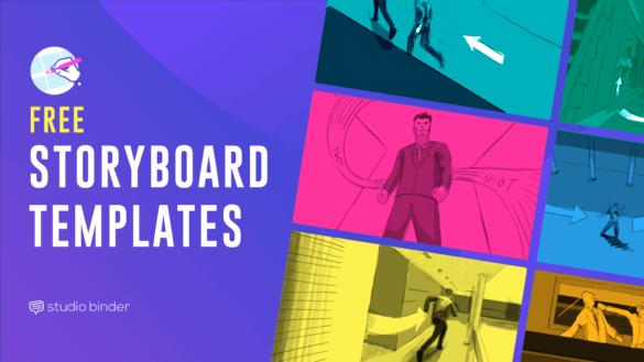 Download Free Storyboard Template - StudioBinder Storyboard Creator