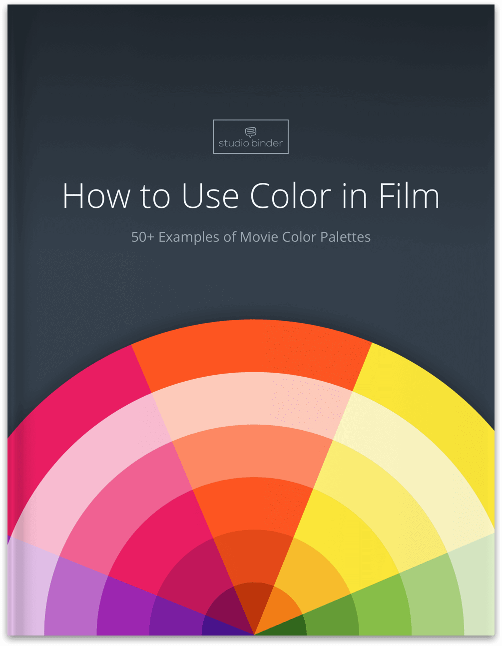 How to Use Color in Film - Ebook Preview - StudioBinder - Hero
