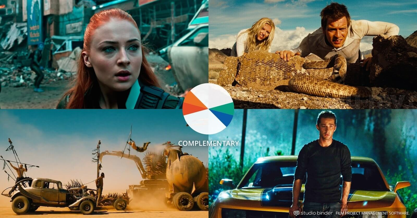 How to Use Color in Film - Example of Movie Color Palette and Schemes - Complementary Orange and Teal-min