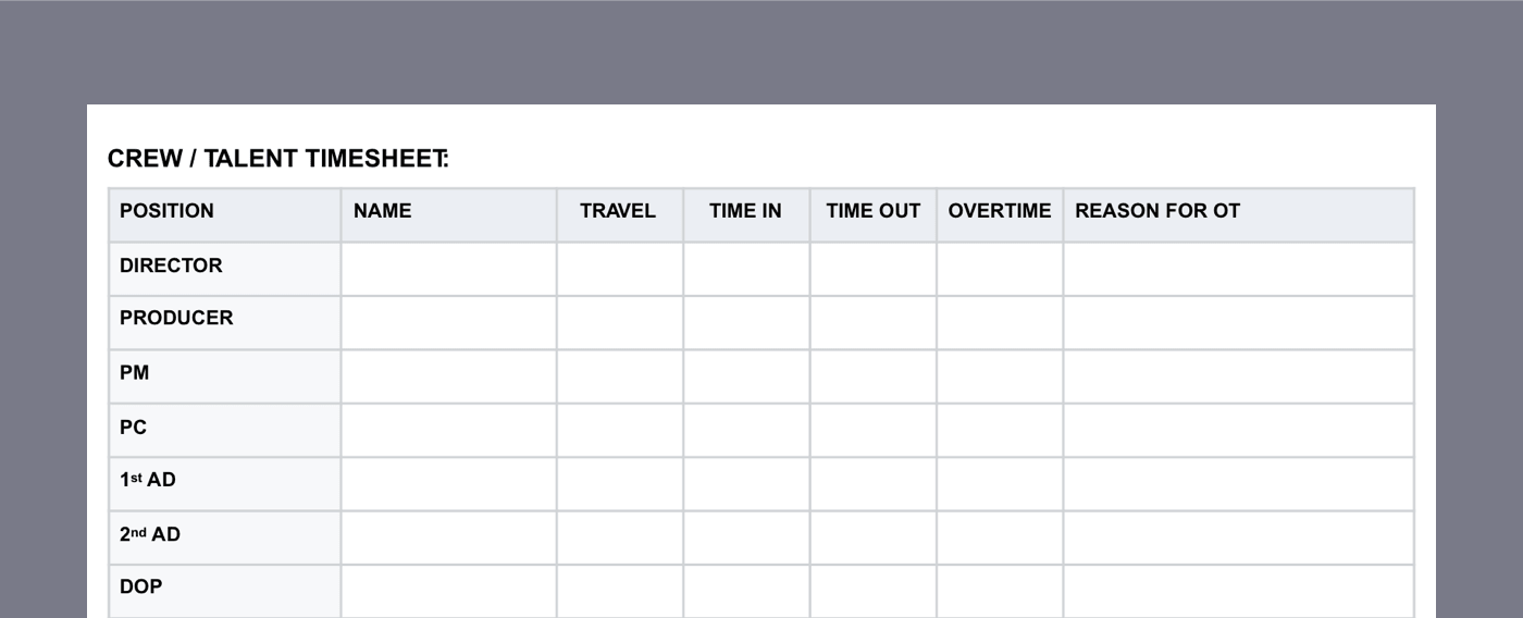 graphic relating to Daily Sheets named The Every day Output Article, Described (with free of charge template)