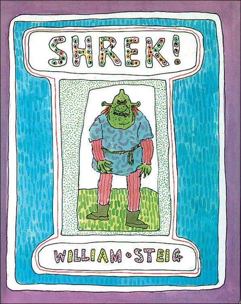 Shrek Script - FairyTale Scripts -Computer Animation Shrek Movie Script -Shrek Book Cover - StudioBinder