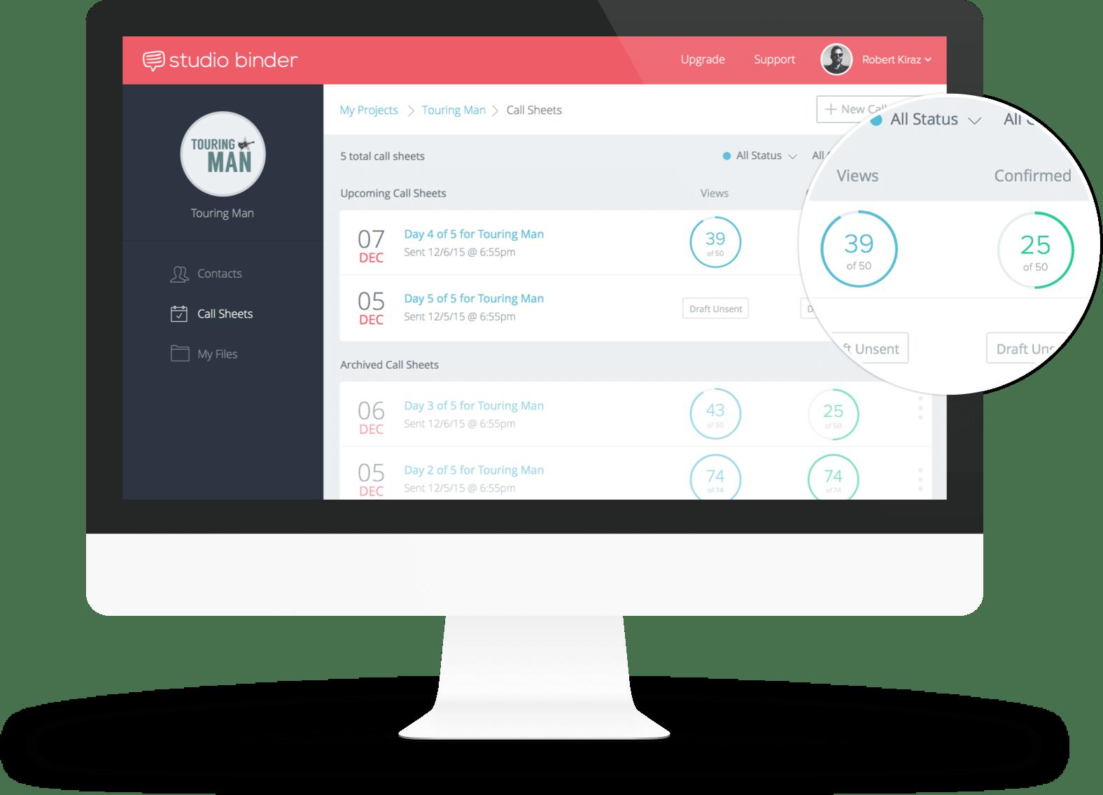 Free Call Sheet App   Create & Send Your Call Sheet Online