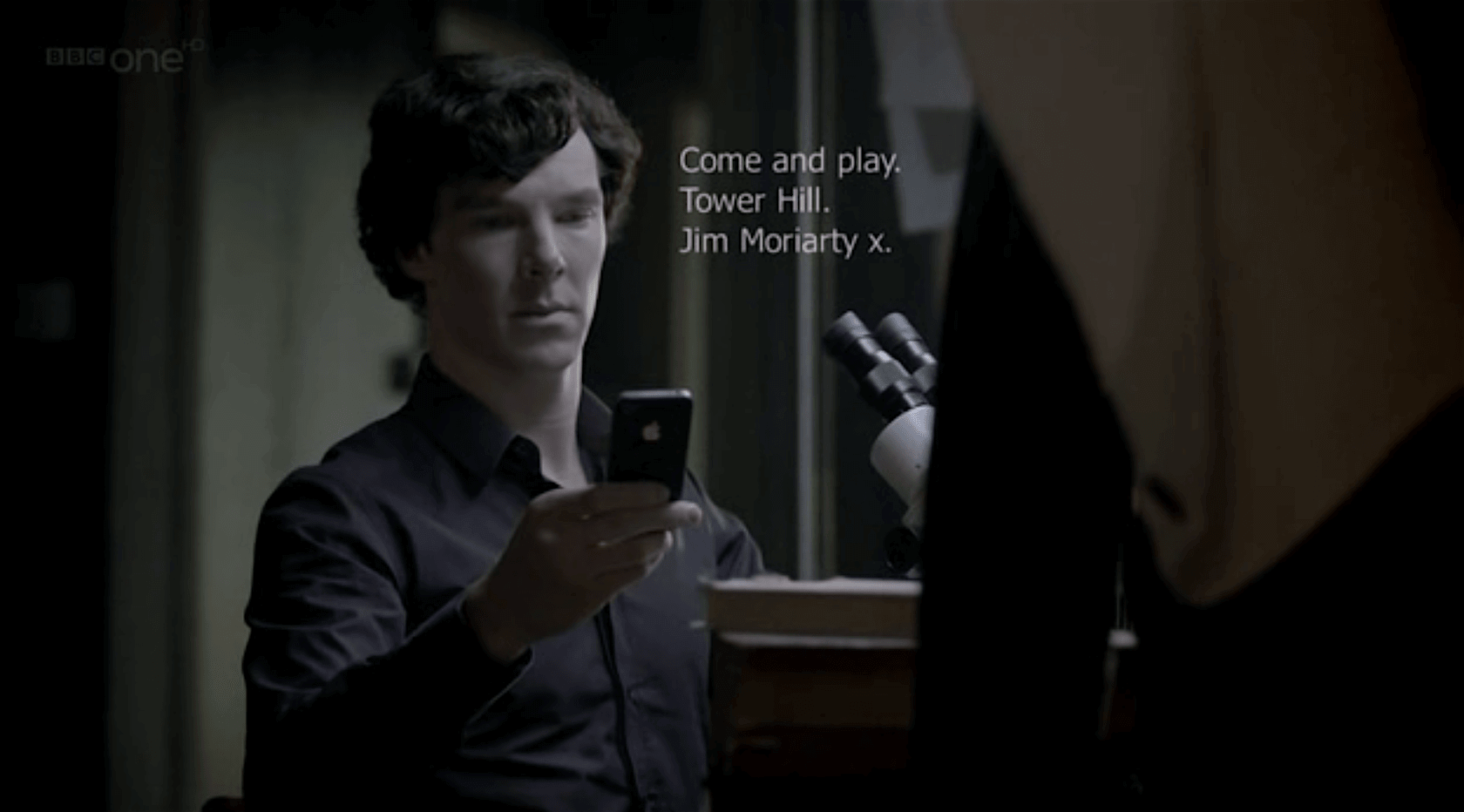 3 Cinematic Film Techniques to Make On-Screen Texting Actually Look Good - Sherlock Text Message