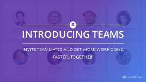 Introducing Teams - TV, Film and Video Production Project Management Software