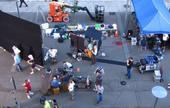 4 Ways Film Producer's Can Decrease Entertainment Insurance Liabilities on Set - Social Image - Studio Binder-min