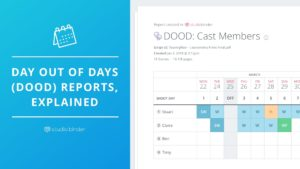 Day Out of Days Reports Explained - Social - StudioBinder