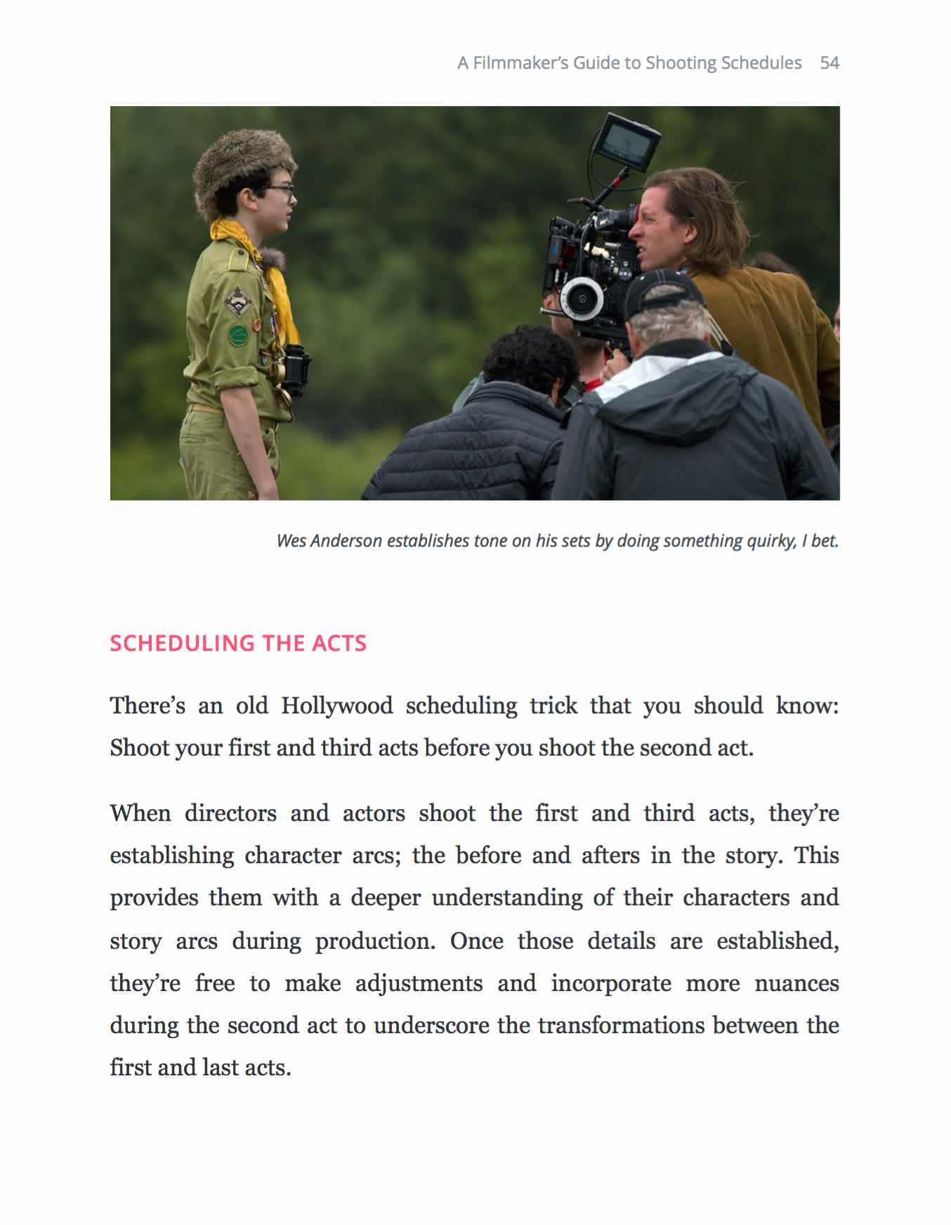 A Filmmakers Guide to Shooting Schedules - Page-54 Free Ebook - StudioBinder