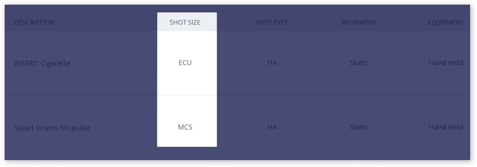 Camera Template | The Only Shot List Template You Need With Free Download