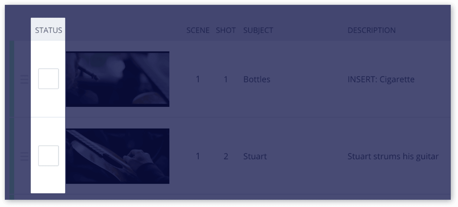 The Only Shot List Template You Need (with Free Download) - Status.