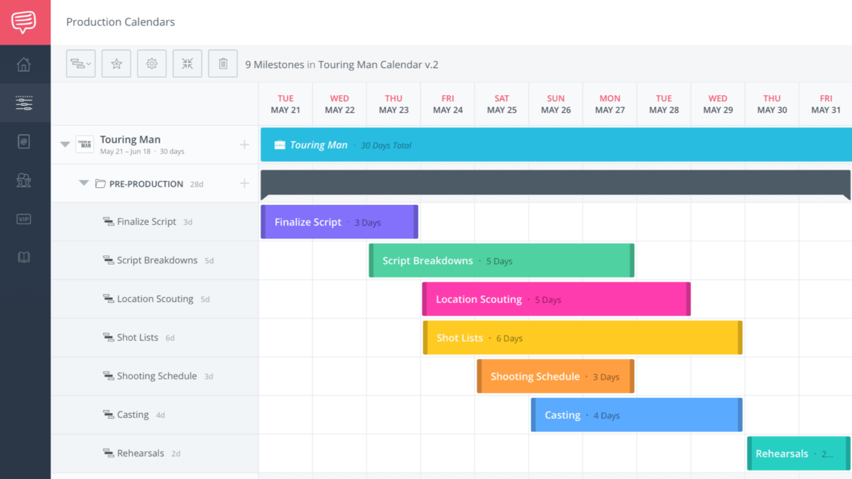 The Ultimate Guide to an Effective Production Calendar – Featured – StudioBinder