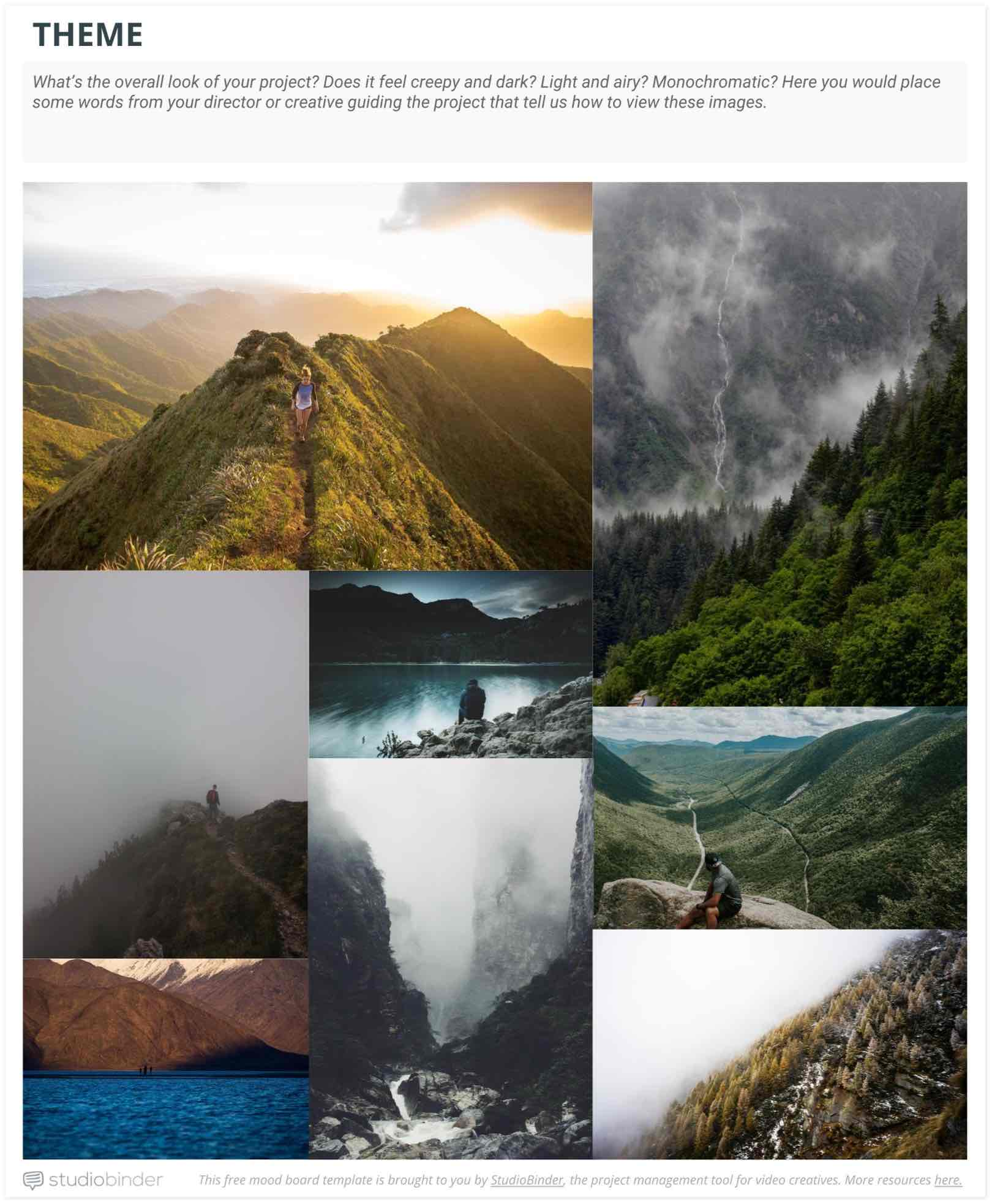 Top 14 Mood Board Apps of 2017 for Video Production [with FREE Template] - StudioBinder