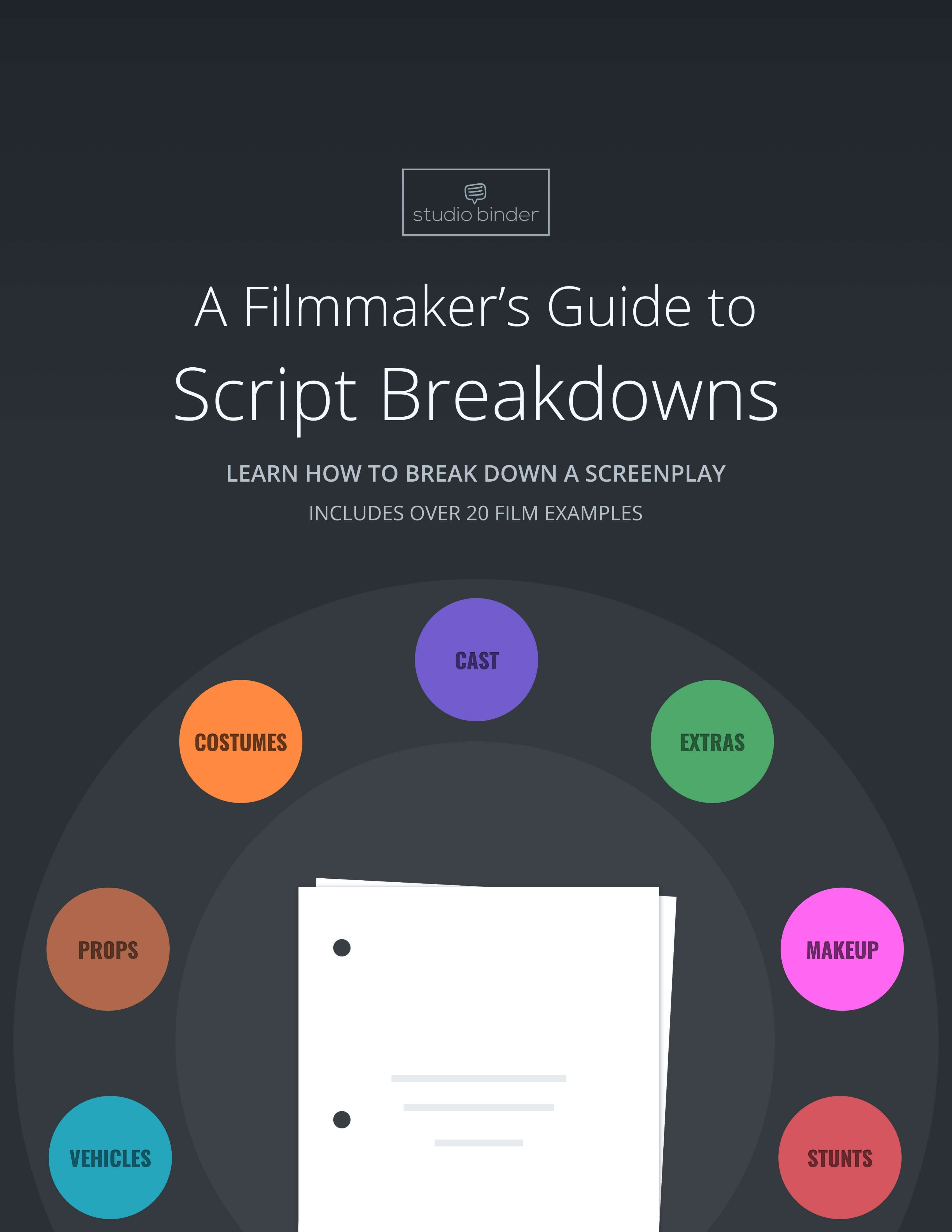 A Filmmaker's Guide to Script Breakdowns (Free E-Book)