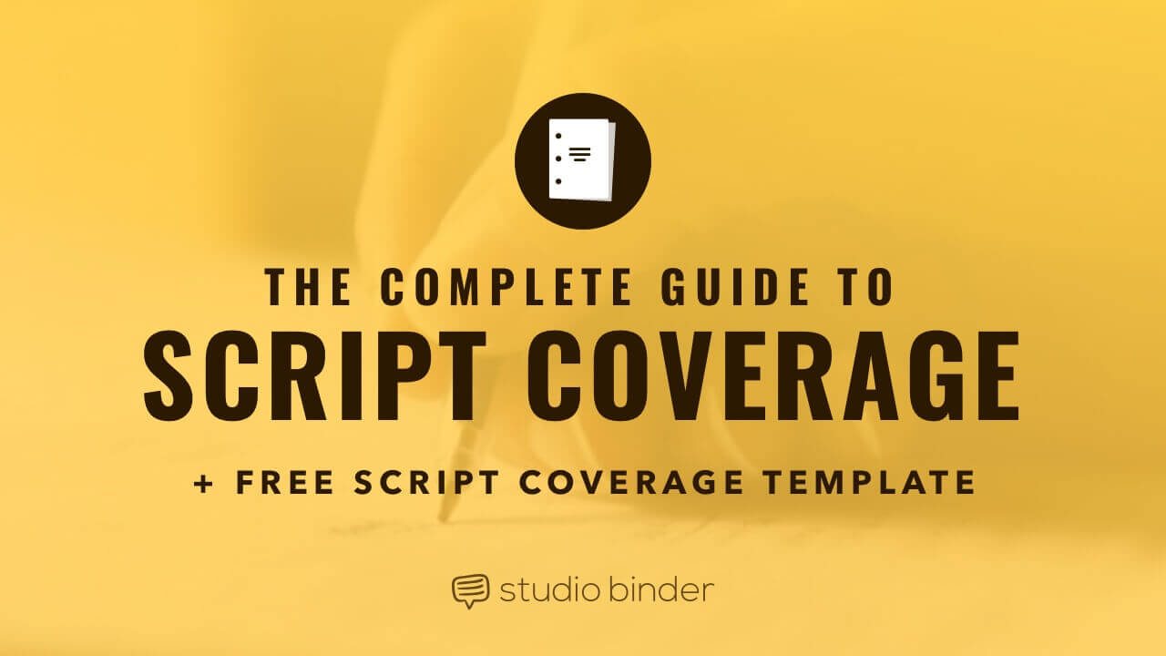 Script Coverage template-social-studiobinder