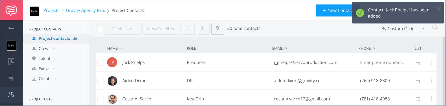 Create a FREE Film Film Production Crew Contact Sheet - StudioBinder - 14