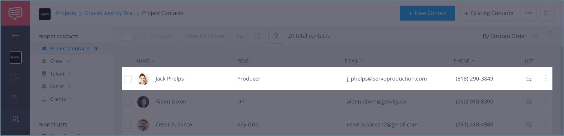 Create a FREE Film Film Production Crew Contact Sheet - StudioBinder - 15b