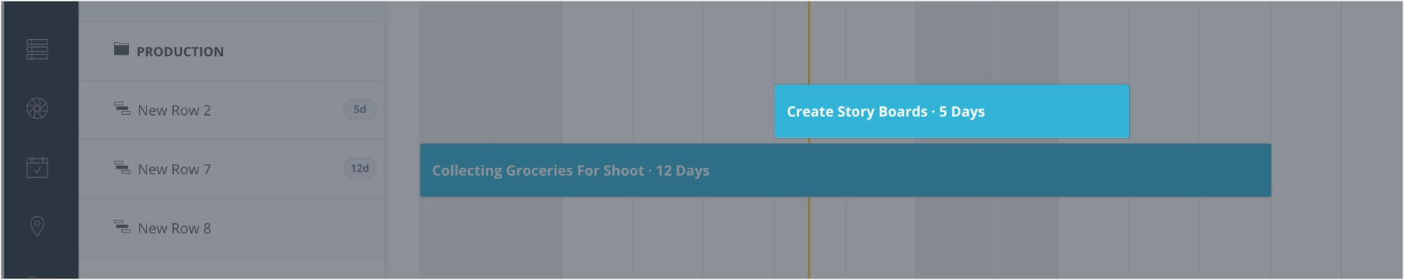 Film, Photo & Production Timeline - Add Due Dates B - StudioBinder