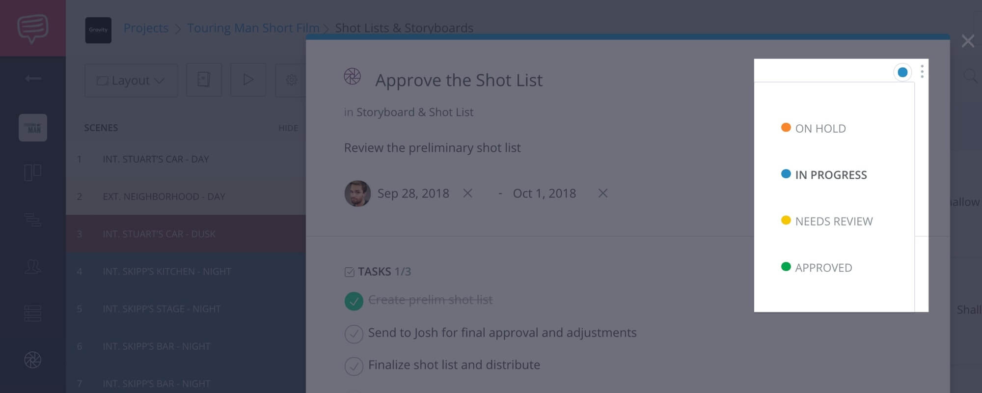How to Create a Shot List with StudioBinder - Shot List Creator Template - 20
