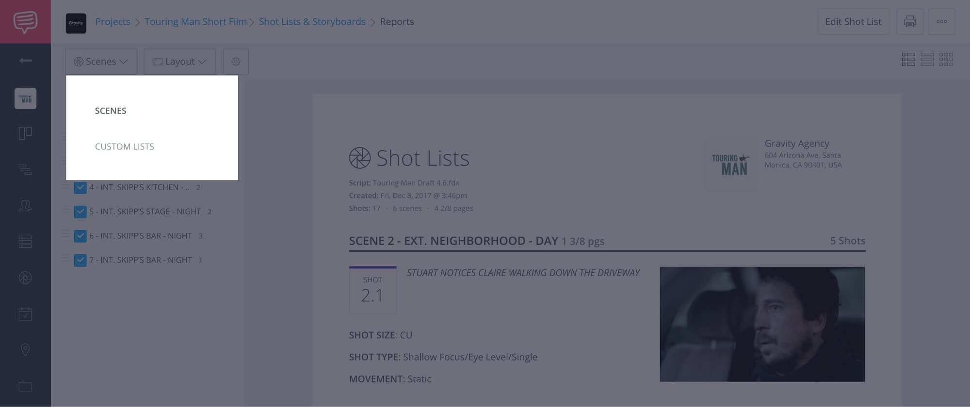 How to Create a Shot List with StudioBinder - Shot List Creator Template - 21
