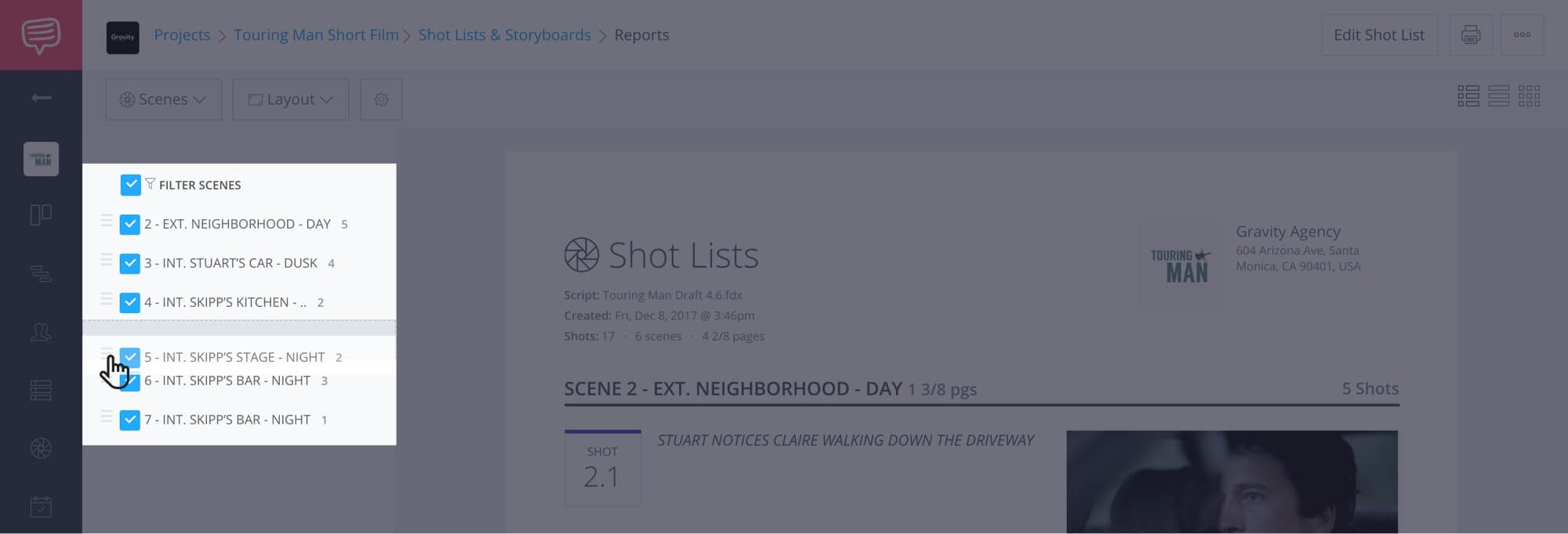 How to Create a Shot List with StudioBinder - Shot List Creator Template - 22