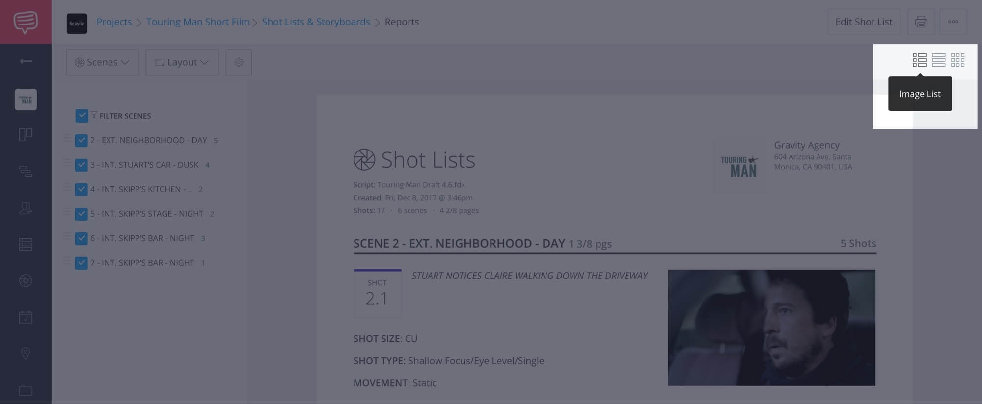 How to Create a Shot List with StudioBinder - Shot List Creator Template - 24