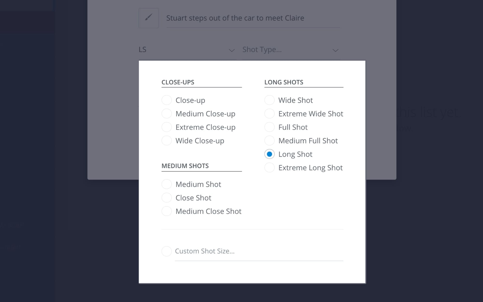 How to Create a Shot List with StudioBinder - Shot List Creator Template - 6