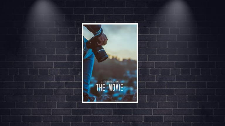 How to Make a Movie Poster - Free Movie Poster Credits Template