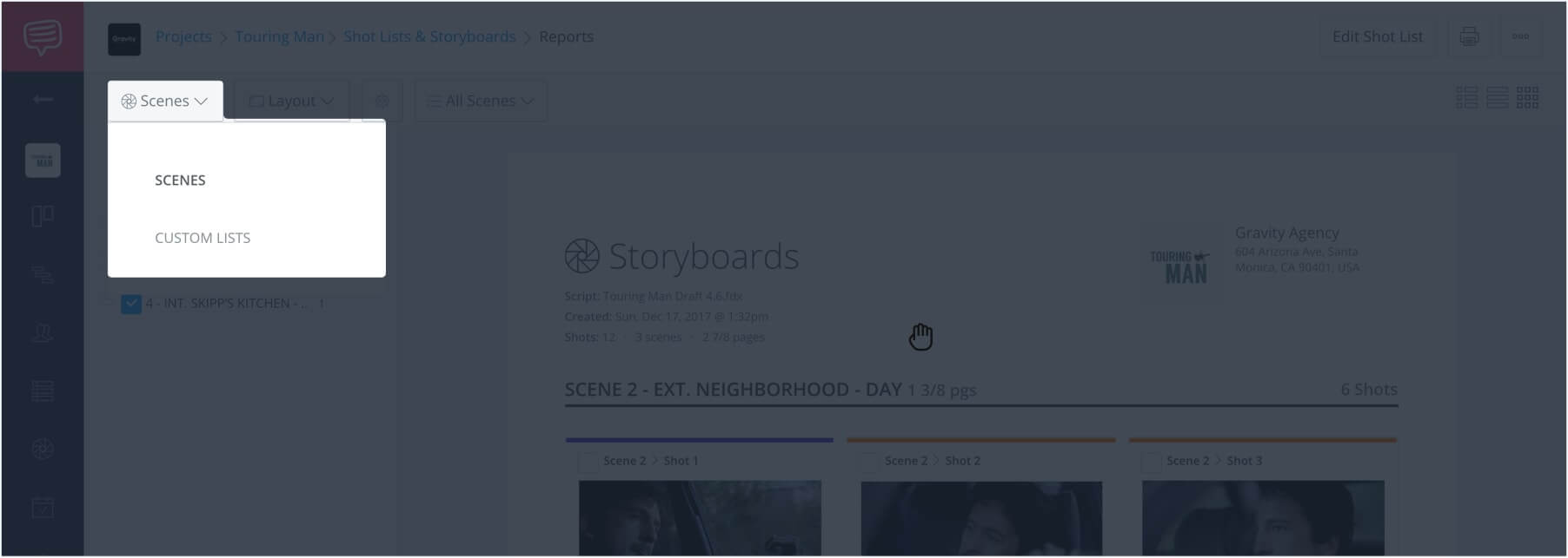 How to Make a Storyboard Online - StudioBinder Storyboard Creator - 20