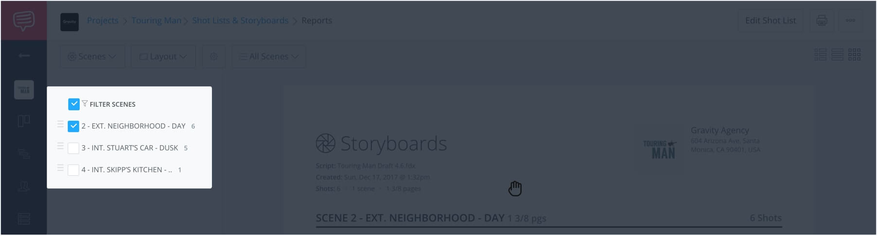 How to Make a Storyboard Online - StudioBinder Storyboard Creator - 21