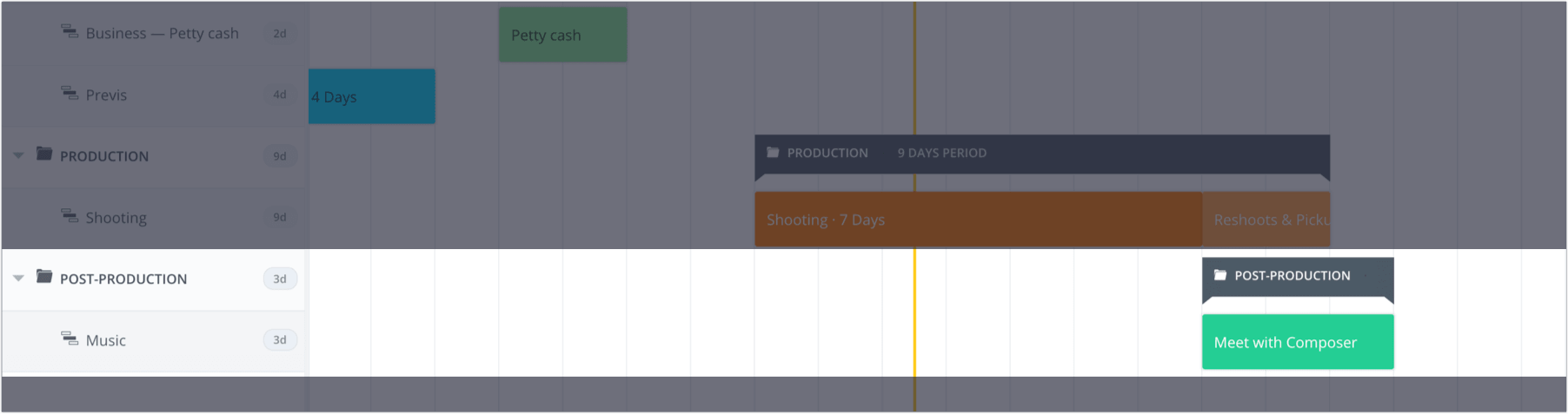 How to Plan a Shoot with a Film & Video Production Calendar - StudioBinder - 16