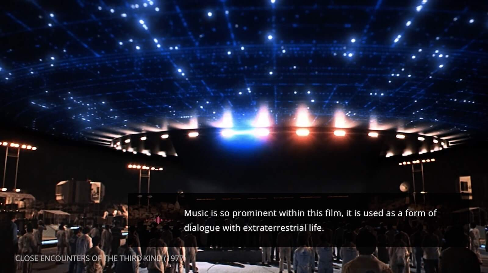 Mastering the Film Score - John Williams - Close Encounters of The Third Kind