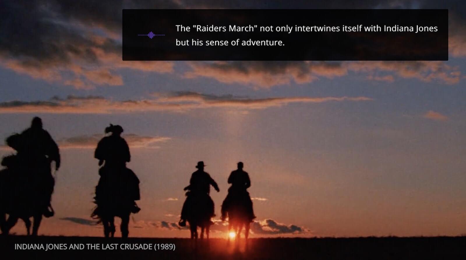 Mastering the Film Score - John Williams - Indiana Jones and The Last Crusade