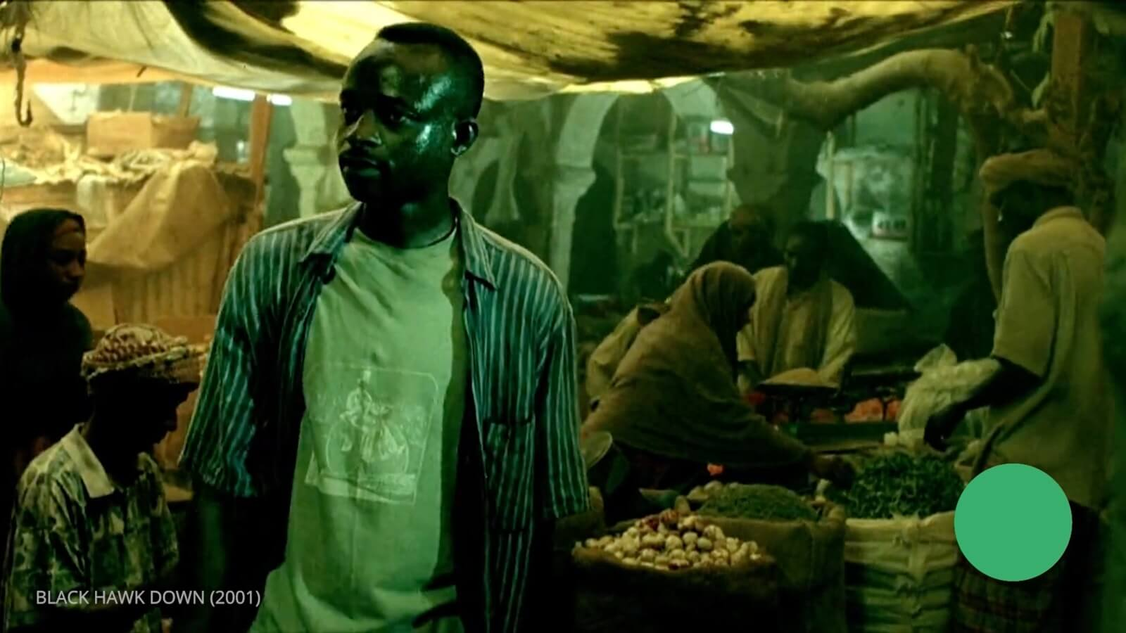 Ridley Scott - Movie Color Palette - Black Hawk Down - Flea Market
