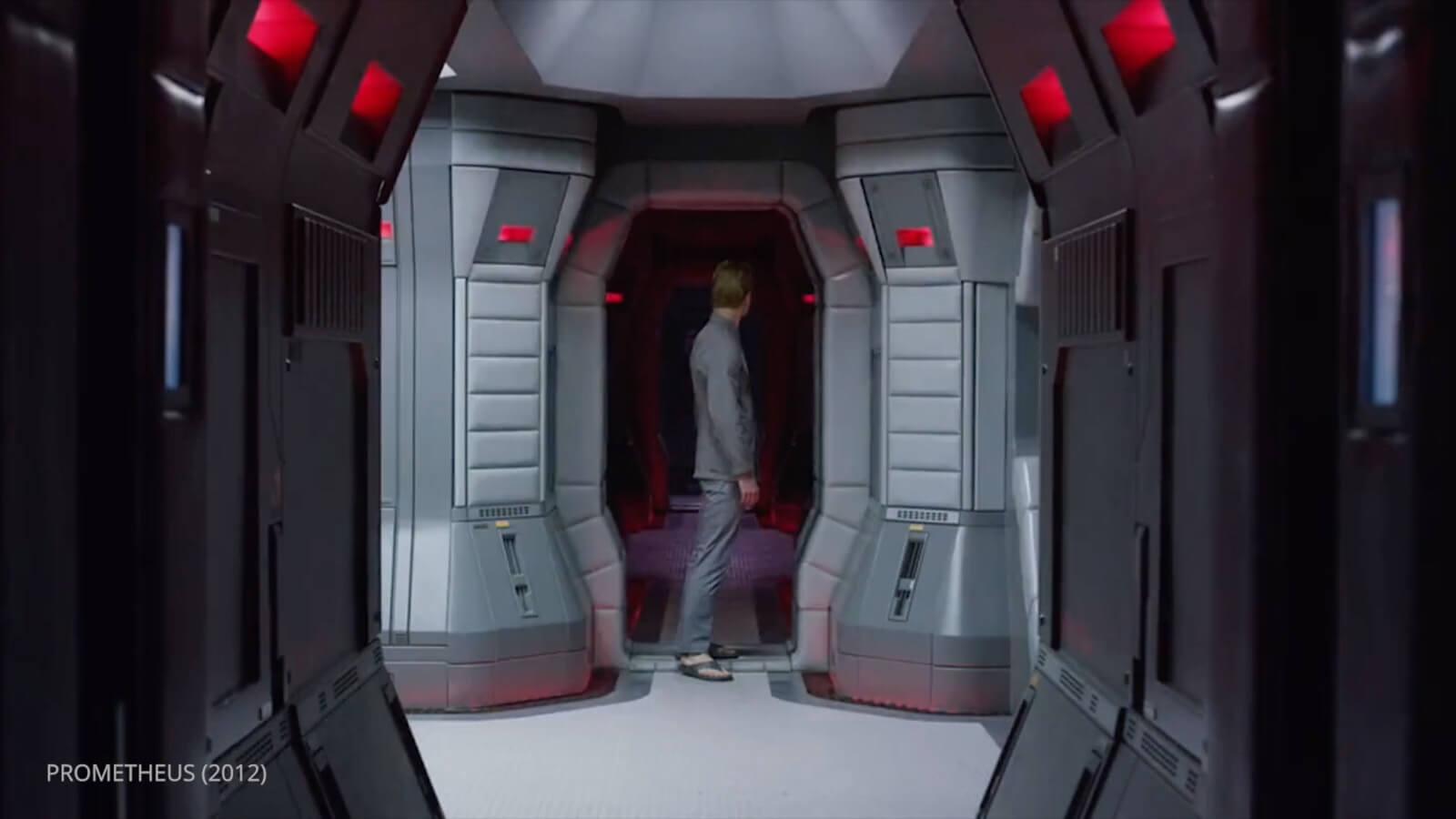 Ridley Scott - Movie Color Palette - Prometheus - Ship