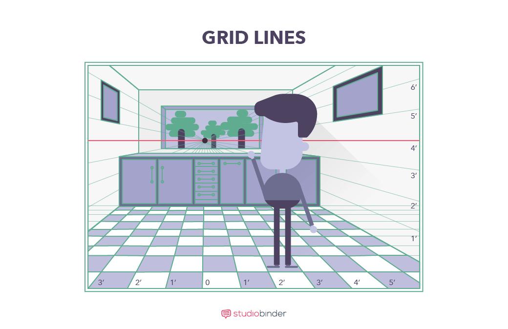 StudioBinder Storyboard Creator - Grid Lines