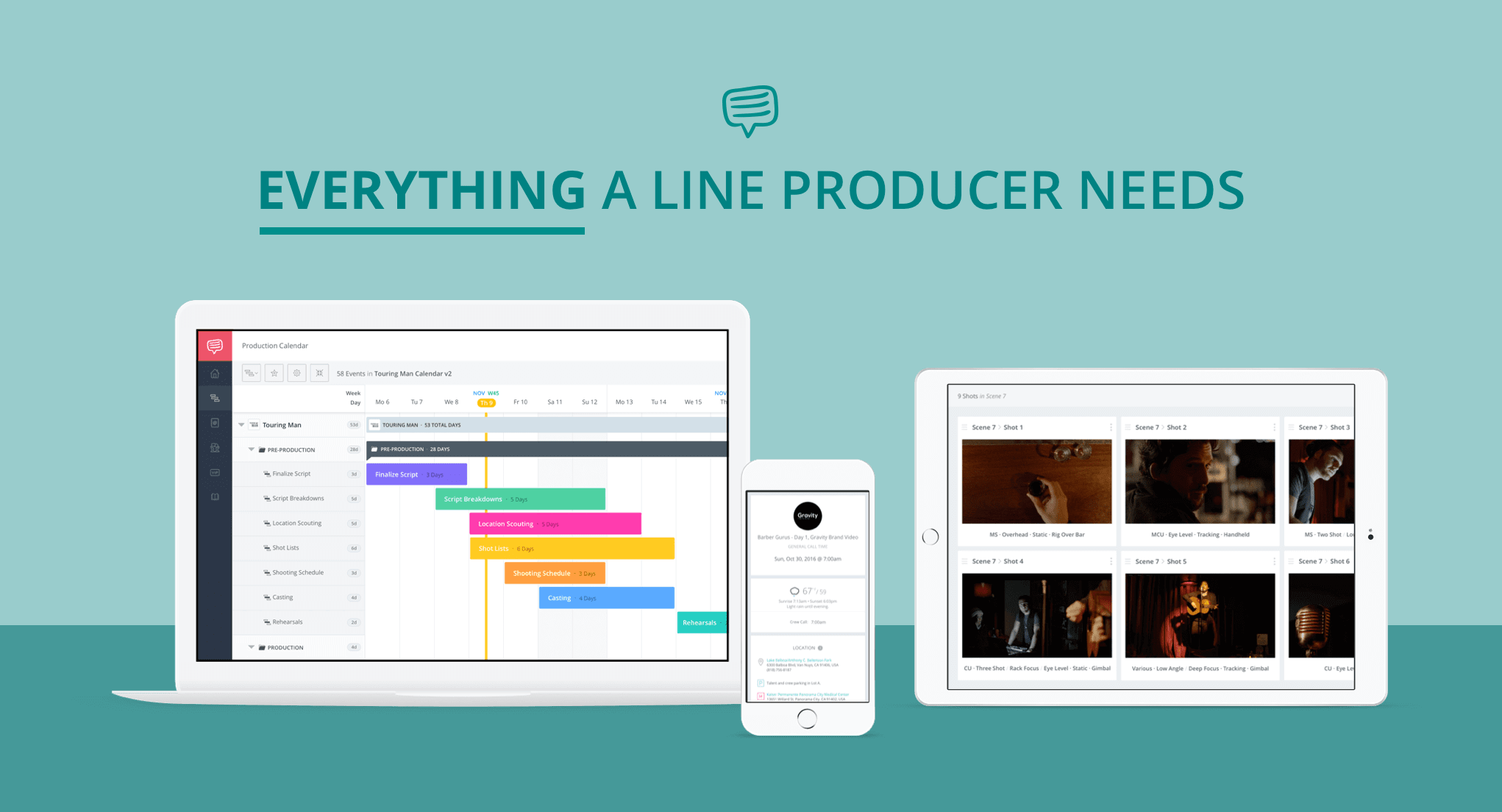 What is a Line Producer - StudioBinder Production Management Software for Line Producer or UPM