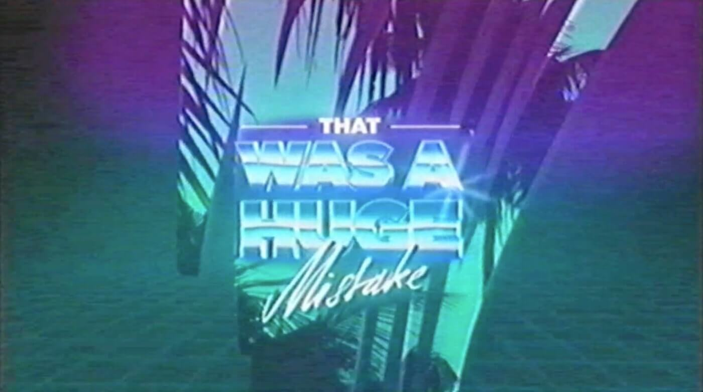 Motion Graphic Design Inspiration - 80s style makes for very cool motion graphics